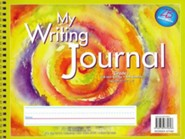 Zaner-Bloser Newsprint Writing Journal, Pastel Swirl Tie-Dye Grade 1