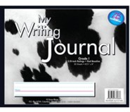Zaner-Bloser Newsprint Writing Journal, Holstein Cow Grade 1