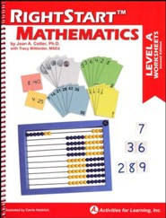 RightStart Mathematics Level A Worksheets, 2nd Edition