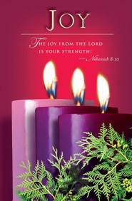 Advent Purple Sunday 3 Joy Bulletin 2014, Regular (Package of 50)