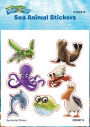 Deep Sea Discovery VBS: Sea Animal Stickers, 10 sheets