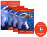 Harcourt Horizons Grade 5 Homeschool Package with Parent Guide CD-ROM