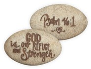 Psalm 46:1, Pocket Stone