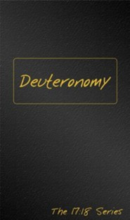 Journible, The 17:18 Series: Deuteronomy