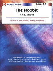 The Hobbit, Novel Units Student Packet, Grades 7-8