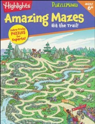 Hit The Trail! (Amazing Mazes)