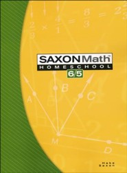 Saxon Math 6/5, 3rd Edition, Student Text
