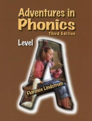 Adventures in Phonics Level A Workbook, 3rd Edition, Kindergarten