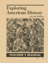 Exploring American History 2nd Edition Teacher's Manual, Grade 5