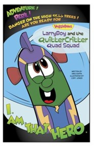 VeggieTales SuperComics: LarryBoy and the Quitter Critter Quad Squad - eBook