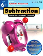 Speed & Accuracy: Subtracting Numbers 1-20