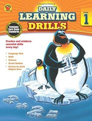 Daily Learning Drills, Grade 1