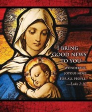 I Bring Good News Christmas Nativity Bulletin 2015, Large (Package of 50)  -