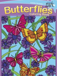 Butterflies Coloring Book  -     By: Jessica Mazurkiewicz