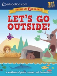 Let's Go Outside! Workbook, Pre K-K