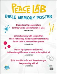 Peace Lab: Bible Memory Poster