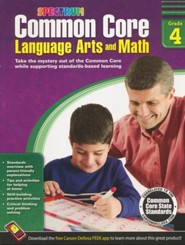 Common Core Math and Language Arts, Grade 4