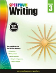 Spectrum Writing Grade 3 (2014 Update)