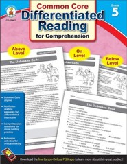 Differentiated Reading for Comprehension, Grade 5