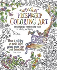 The Book of Friendship Coloring Art