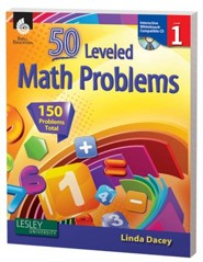 50 Leveled Problems for the Mathematics Classroom Level 1