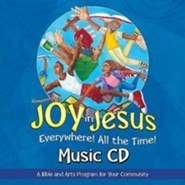 VBS 2016 Joy in Jesus Everywhere! All the Time! - Music CD