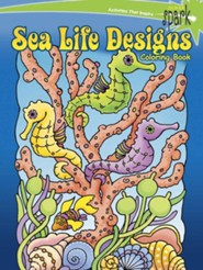 Sea Life Designs Coloring Book