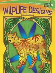 Wildlife Designs Coloring Book