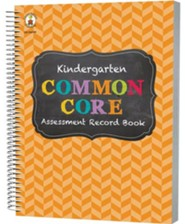 Common Core Assessment Record Book, Grade K