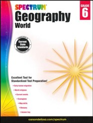 Spectrum Geography, Grade 6 (2015 Edition)