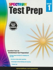 Spectrum Test Prep, Grade 1 (2015 Edition)