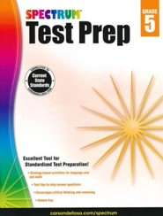 Spectrum Test Prep, Grade 5 (2015 Edition)