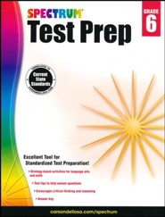 Spectrum Test Prep, Grade 6 (2015 Edition)