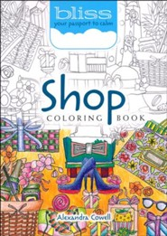 Shop Coloring Book