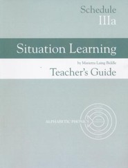 Situation Learning Schedule 3A Teacher's Guide