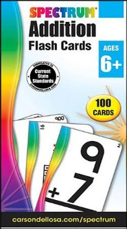 Spectrum Addition Flashcards