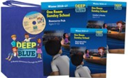 Deep Blue: One Room Sunday School Kit Winter 2016-17