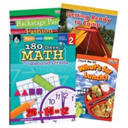 Learn-at-Home Math Bundle, Grade 2