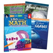 Learn-at-Home Math Bundle, Grade 4