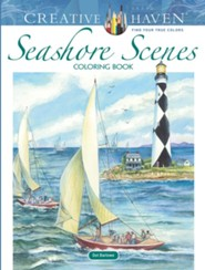 Seashore Scenes Coloring Book