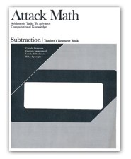 Attack Math Subtraction Teacher Resource Book