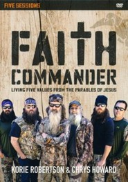 Faith Commander: A DVD Study: Learning 5 Family Values from the Parables of Jesus