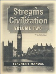 Streams of Civilization Volume 2 Teacher's Manual (3rd Edition)