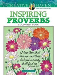 Inspiring Proverbs Coloring Book