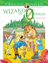 Wizard of Oz Designs Coloring Book