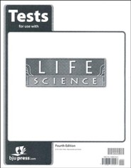 BJU Life Science Tests, Grade 7, 4th Edition