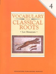 Vocabulary from Classical Roots Book 4 Gr 4