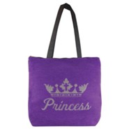 Princess Tote Bag, Purple
