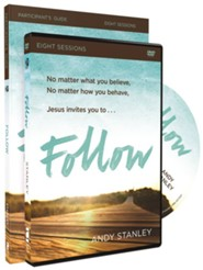 Follow Participant's Guide with DVD: No Experience Necessary  -     By: Andy Stanley