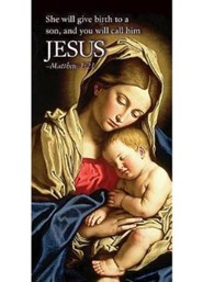 Jesus Nativity Christmas Offering Envelope, Pack of 50